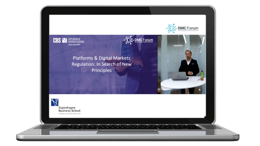 Digital Markets Competition Forum